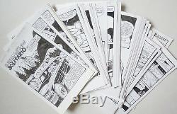72 planches originales BD érotique pour Elvifrance Serie MEZZANOTTE
