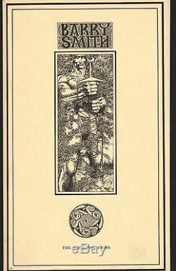 BARRY WINDSOR-SMITH Fantastic Islands PORTFOLIO numéroté et signé 1978. CN/NEUF