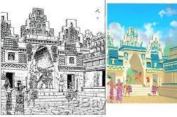 Belle Illustration Originale + Mise En Couleurs Torton Alix Les Azteques