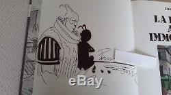 Bilal La Foire Aux Immortels Eo 1980+ Superbe Dessin Original Signe