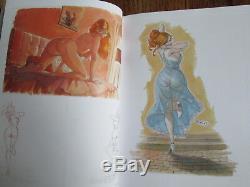 CUCCA Dessin original de Pandamonia Pastels sur papier craft signée 2012