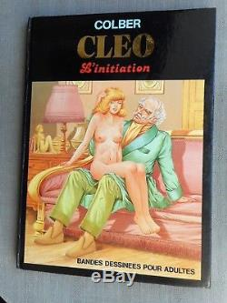Colber Cleo L'initiation Int Eo Ttbe Dedicace Sublime Multiples Personnages