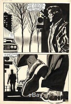 Coplan Embuscade Au Crepuscule (dessins Huescar) Planche Originale Page 105