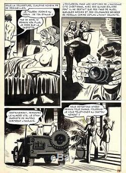 Coplan Embuscade Au Crepuscule (dessins Huescar) Planche Originale Page 79