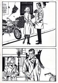 Coplan Embuscade (dessins Jullian) Planche Originale Inedite Aredit Page 174