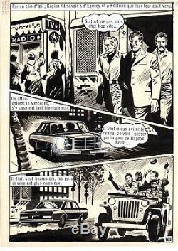 Coplan Envoyez Fx (dessins Huescar) Planche Originale Aredit Page 198
