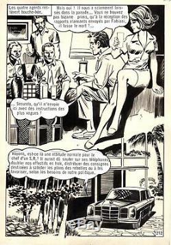 Coplan Envoyez Fx (dessins Huescar) Planche Originale Aredit Page 212