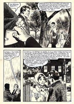 Coplan Sabotages (dessins Huescar) Planche Originale Aredit Page 45