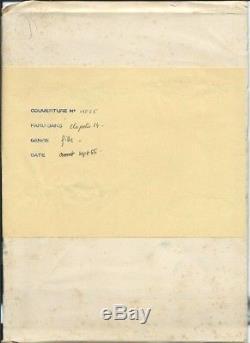 Cortiella 1966 Magnifique Dessin Original Gouache Couverture Clapotis N° 14