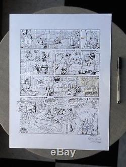 Damour Nash Planche Originale Tome 3 La Reine Des Anges Page 24 Parfait Etat