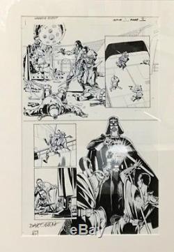 Dave GIBBONS Dessin planche originale signée STAR WARS
