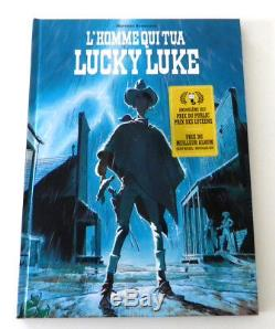 Dédicace BD de Matthieu Bonhomme L'Homme qui tua Lucky Luke