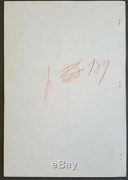 Dessin Encre Planche Originale DUPA (1945-2000) Chlorophylle Tintin 1982