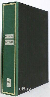 EX. ENRICHI Déblais Gus BOFA Eaux-fortes 1/ex n° SUITES PLANCHES DESSIN ORIGINAL