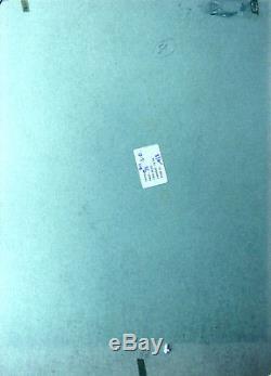 Eddy Paape planche originale Luc Orient La porte de cristal (Valhardi)