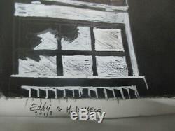 Eddy Vaccaro & Mathilde Domecq Planche Dessin original 42 cm sur 30 cm