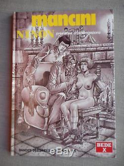 Erotique Mancini Ninon T1 Premices Et Soumissions Eo Etat Neuf Superbe Dedicace