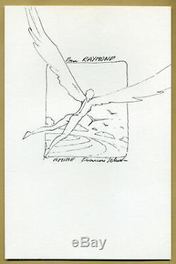 François Schuiten Dessinateur belge Joli dessin original stylisé au feutre