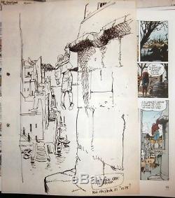 Franz illustration Brougue 2 La Renarde (planche 43)