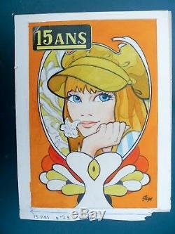 GIGI couverture originale couleur pour 15 ans n° 72