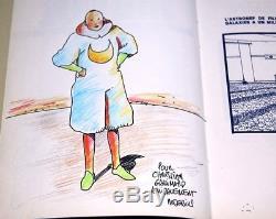 GIR MOEBIUS EO Tueur de monde avec BELLE DÉDICACE COULEUR pour Gallimard (1979)