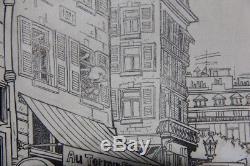GREG (et MITTEÏ) Historique toute première planche de la série LES AS (1963)