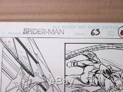 Gil KANE Planche Originale US SPIDER-MAN #63