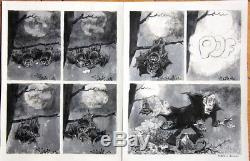 HAUSMAN DUBOIS Rare double planche originale (Fluide Glacial n° 38 de 1979)