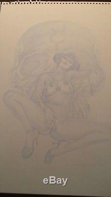 Hommage Frollo Leone / Mona Street-Dessin original ADRIANO DE VINCENTIIS (signé)