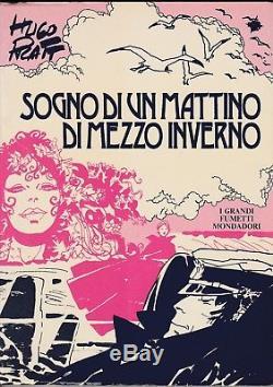 Hugo PRATT Dessin original Corto Maltese signé