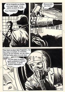 Irving A Tokyo (dessins Miguel Bulto) Planche Originale Aredit Page 161