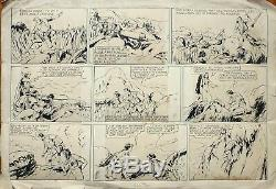 JIM ALASKA Planche originale de Athos COZZI pour JUMBO en 1938 dessin original