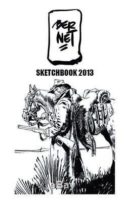 JORDI BERNET 2013 Sketchbook 39/200 avec DÉDICACE