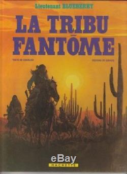 Jean GIRAUD La Tribu Fantôme dédicace dessin original