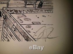 Jean Giraud (Moebius) Blueberry, magnifique sérigraphie signée
