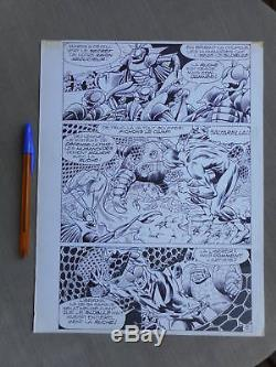 Jean-yves Mitton Mikros Superbe Planche Originale Mustang 58 Page 5 Tbe