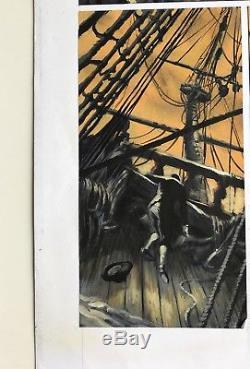 Jeronimus 2 Gouache Pour Cette Exceptionnelle Grande Planche N°63 (pendanx)