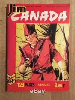Jim Canada Original de Couverture TBE