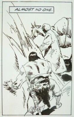 John BUSCEMA planche originale de CONAN THE BARBARIAN Marvel 1995