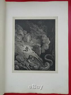 L'ENFER DE DANTE ALIGHIERI Dessins de Gustave DORE 1865 L. HACHETTE Planche N°40