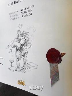 Lanfeust De Troy Tome 6 CIXI L'imperatrice Eo Etat Neuf Avec Sublime Dedicace