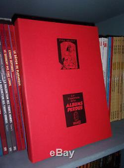 Le tombeau des albums perdus Portfolio 130 exemplaires Félix Meynet BD