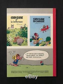 Macherot Dessin Original 4ème de Couverture Sibylline et les Abeilles 1969 RARE