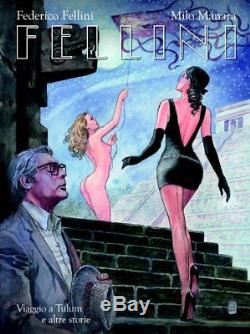 Manara Magnifique étude pour la couverture de Fellini dessin original