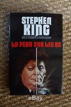 Maquette couverture originale STEPHEN KING (la peau sur les os) yves thos