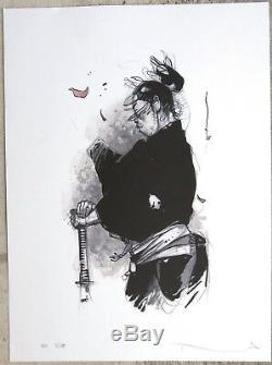 Michetz illustration originale Kogaratsu 19X31,5 encadrée Signée et datée 2008