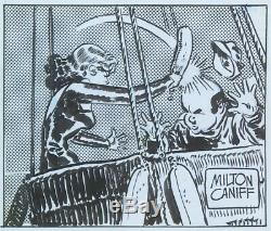 Milton Caniff Steve Canyon Daily Strip Original 1987