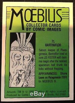 Moebius Mise En Couleur Originale Tradind Card 71 Bartiniflor