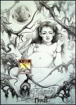 Nu Nude Dessin Original De Claude Marrache Curiosa Planche Originale Art