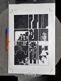 Original Art Ryan Sook Bprd Issue 2 Pg 21 Excellent Etat